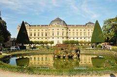 Palazzo di Residenze, Wurzburg germany Fotografia Stock Libera da Diritti