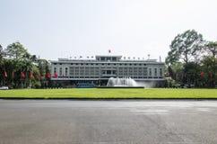 Palazzo di riunificazione, Vietnam Fotografie Stock Libere da Diritti