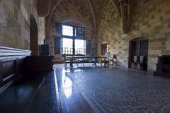 Palazzo di Rodi, Grecia fotografia stock libera da diritti