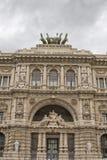 Palazzo di Roma corte di cassazione Fotografia Stock