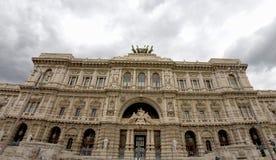 Palazzo di Roma corte di cassazione Fotografie Stock Libere da Diritti