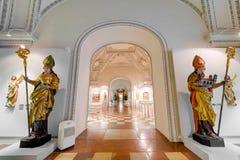 Palazzo di Salisburgo Residenz a Salisburgo, Austria immagini stock libere da diritti