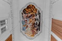 Palazzo di Salisburgo Residenz a Salisburgo, Austria Immagine Stock Libera da Diritti