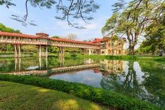 Palazzo di Sanam Chan, Nakhon Pathom, Tailandia Fotografia Stock Libera da Diritti