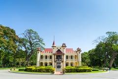 Palazzo di Sanamchan in Nakornpathom, Tailandia Fotografie Stock