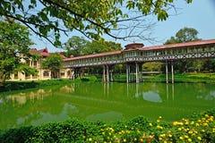 Palazzo di SanamJan, Nakornpathom, Tailandia. fotografia stock