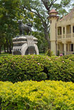 Palazzo di SanamJan, Nakornpathom, Tailandia. immagine stock libera da diritti