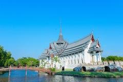 Palazzo di Sanphet Prasat, città antica, Tailandia Immagini Stock
