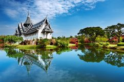 Palazzo di Sanphet Prasat, Tailandia Immagine Stock