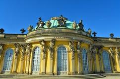 Palazzo di Sanssouci Immagini Stock
