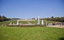 Palazzo di Sanssouci e parco - Potsdam (Germania) Immagini Stock