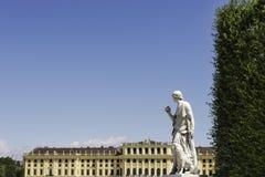 Palazzo di Schönbrunn, Vienna Fotografia Stock Libera da Diritti