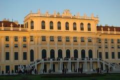 Palazzo di Schönbrunn (particolare) Fotografia Stock Libera da Diritti
