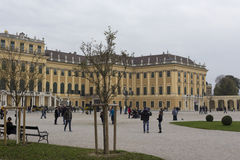 Palazzo di Schoenbrunn Immagini Stock
