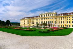 Palazzo di Schonbrunn Fotografia Stock