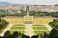 Palazzo di Schonbrunn e parco, Vienna, Austria Fotografia Stock Libera da Diritti