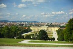 Palazzo di Schonbrunn a Vienna Immagini Stock Libere da Diritti