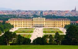 Palazzo di Schonbrunn a Vienna. immagine stock