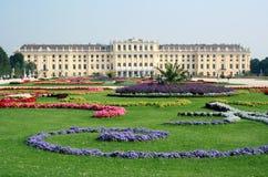Palazzo di Schonbrunn a Vienna Immagine Stock Libera da Diritti