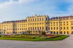 Palazzo di Schonbrunn a Vienna fotografia stock libera da diritti