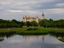 Palazzo di Schwerin Immagine Stock Libera da Diritti