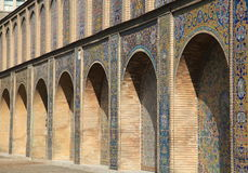Palazzo di Shah a Teheran Fotografie Stock