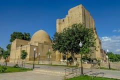 Palazzo 17 di Shahrisabz Ak Saray fotografia stock libera da diritti