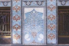 Palazzo di Shaki Khans nell'Azerbaigian Fotografia Stock