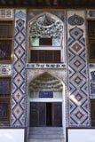 Palazzo di Shaki Khans nell'Azerbaigian Fotografie Stock Libere da Diritti