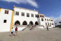 Palazzo di Sintra Fotografia Stock