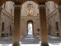 Palazzo di Spada - di Terni Immagine Stock