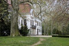 Palazzo di Szechenyi in Nagycenk Immagini Stock Libere da Diritti