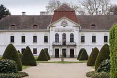 Palazzo di Szechenyi in Nagycenk Fotografia Stock Libera da Diritti