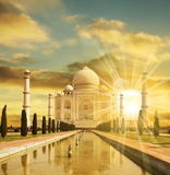 Palazzo di Taj Mahal immagini stock