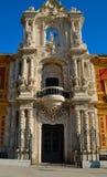 Palazzo di Telmo del san dell'entrata Fotografia Stock Libera da Diritti