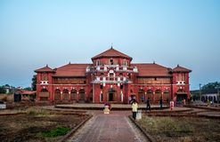 Palazzo di Thibaw fotografie stock