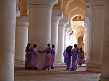 Palazzo di Thirumalai Nayak, Madura Immagine Stock Libera da Diritti