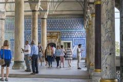 Palazzo di Topkapi, Costantinopoli fotografia stock