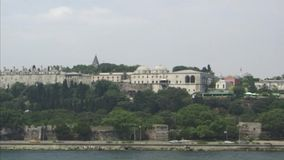 Palazzo di Topkapi Costantinopoli stock footage