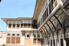 Palazzo di Topkapi a Costantinopoli Fotografia Stock Libera da Diritti