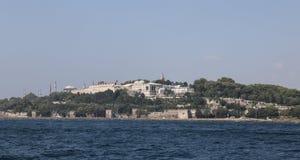 Palazzo di Topkapi in Sultanahmet, città di Costantinopoli Fotografie Stock