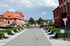Palazzo di Troja nella Repubblica ceca Fotografia Stock Libera da Diritti