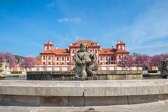 Palazzo di Troja a Praga Immagini Stock