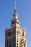 Palazzo di Varsavia di coltura e di scienza Immagini Stock