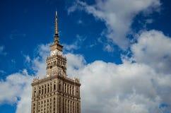 Palazzo di Varsavia di coltura e di scienza Immagine Stock
