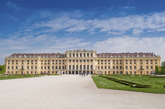 Palazzo di Vienna Schonbrunn Immagine Stock Libera da Diritti