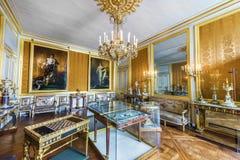 Palazzo di visita di Fontainebleau fotografia stock libera da diritti