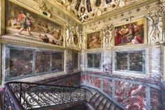 Palazzo di visita di Fontainebleau immagini stock libere da diritti