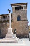 Palazzo di Vitelleschi. Tarquinia. Il Lazio. L'Italia. Immagine Stock Libera da Diritti
