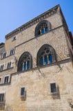 Palazzo di Vitelleschi. Tarquinia. Il Lazio. L'Italia. Immagine Stock